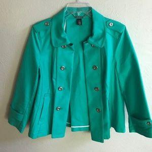 Deleting⚡️White House Black Market green blazer
